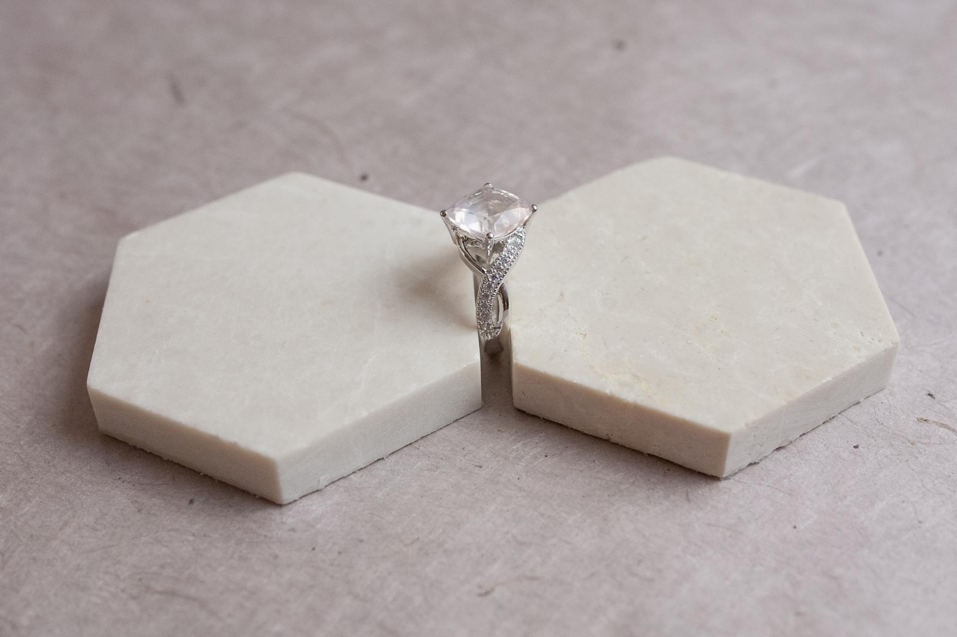 Bague light quartz