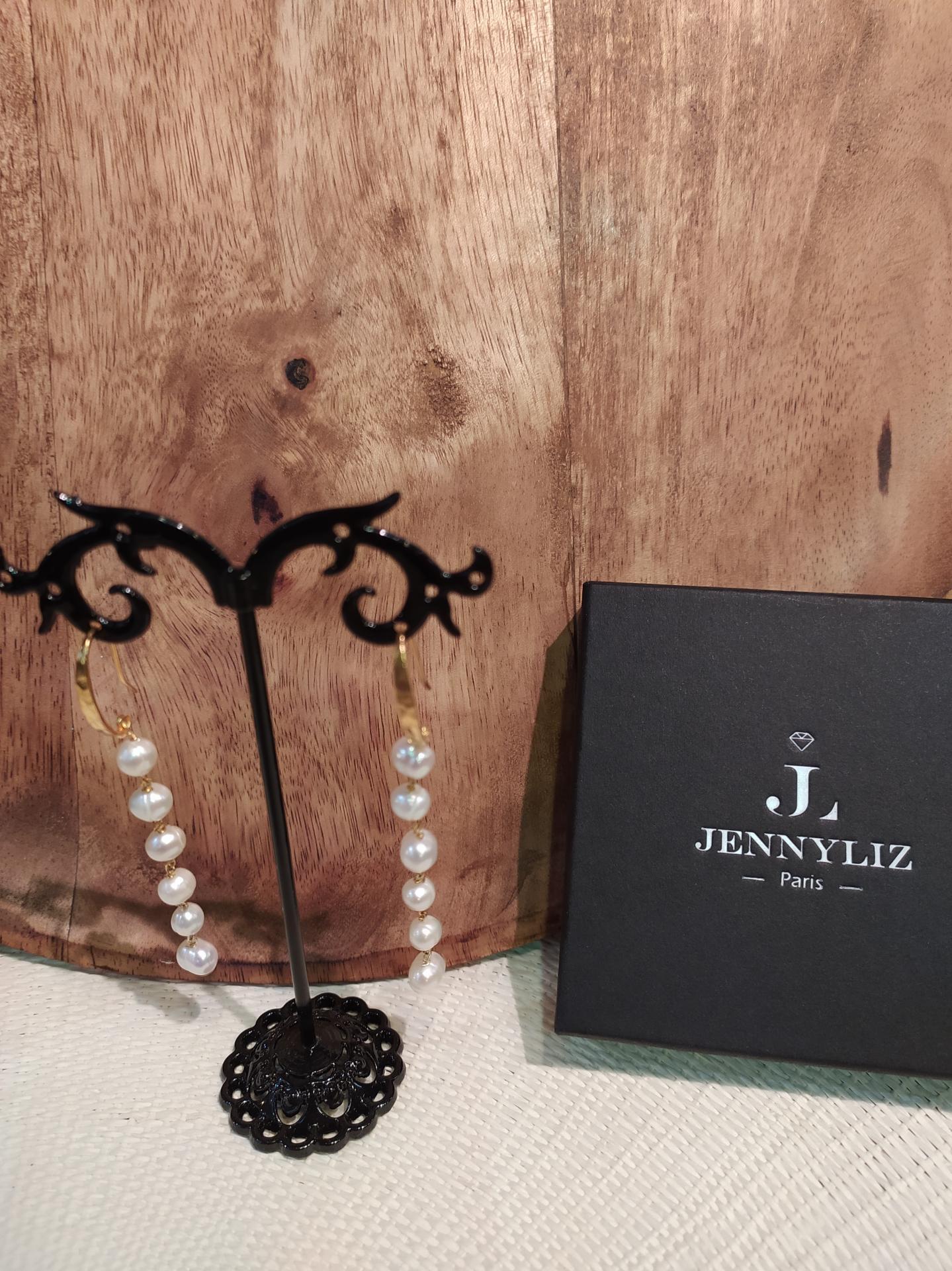 Bo perles d eau douce ref 315 1 23 gr prix 59 eur longueur totale environ 7cm