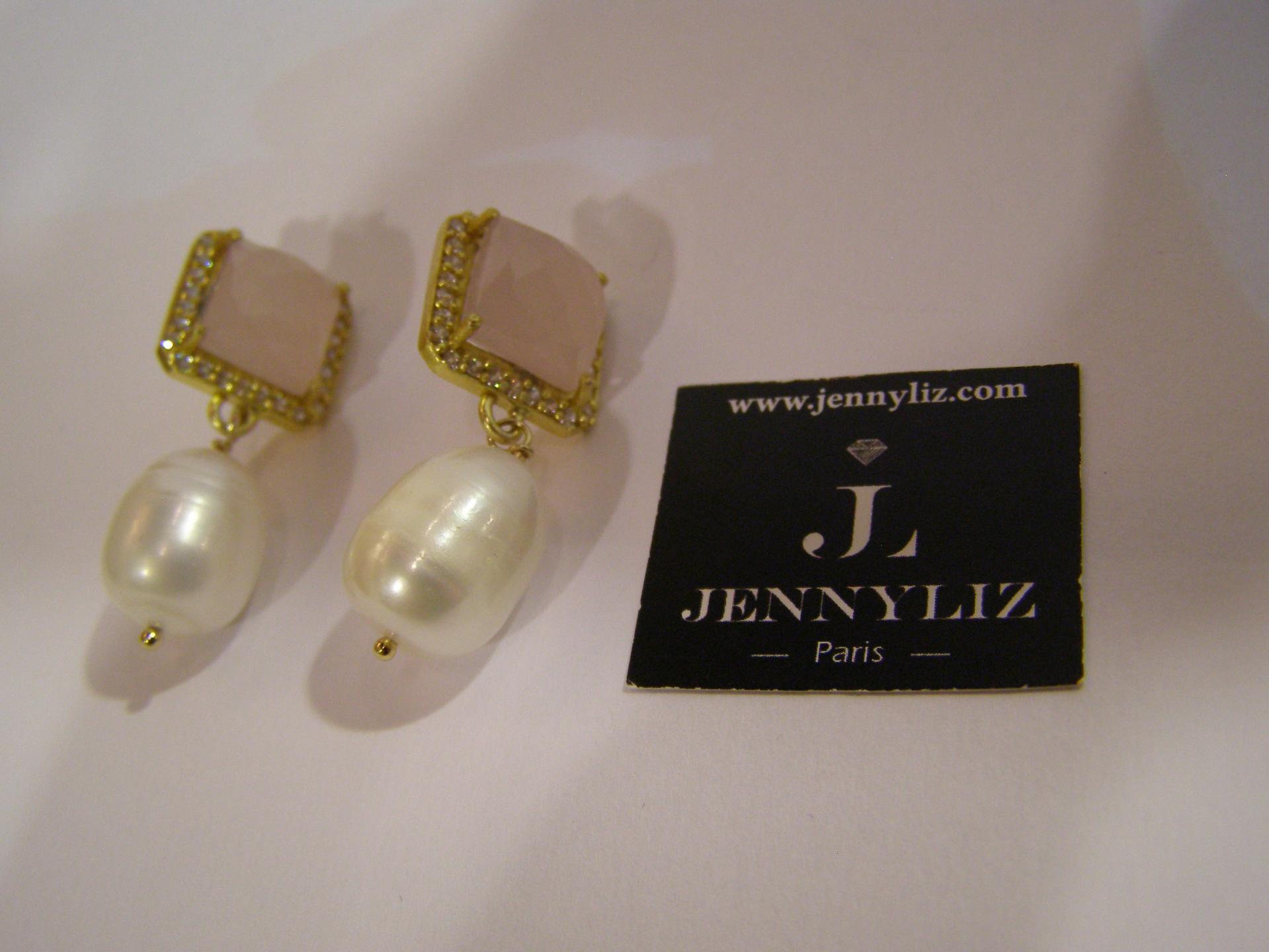 Boucles melanie avec perles d australie 3 5 cm 75 eur 3 6 gr