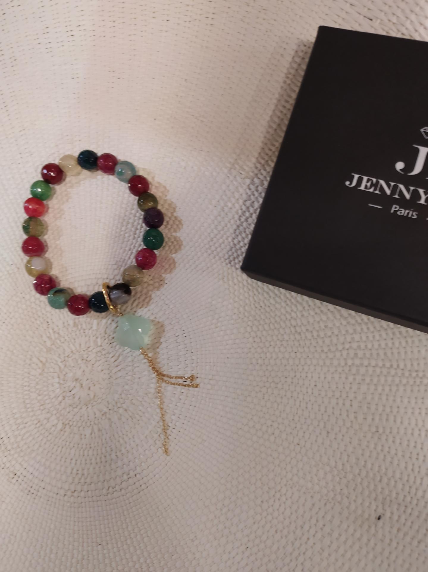 Bracelet jade de couleur diff 4