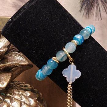 Bracelet dégradé bleu