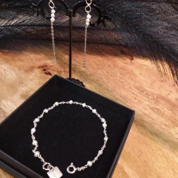 Bracelet de perles naturelles  ref 260