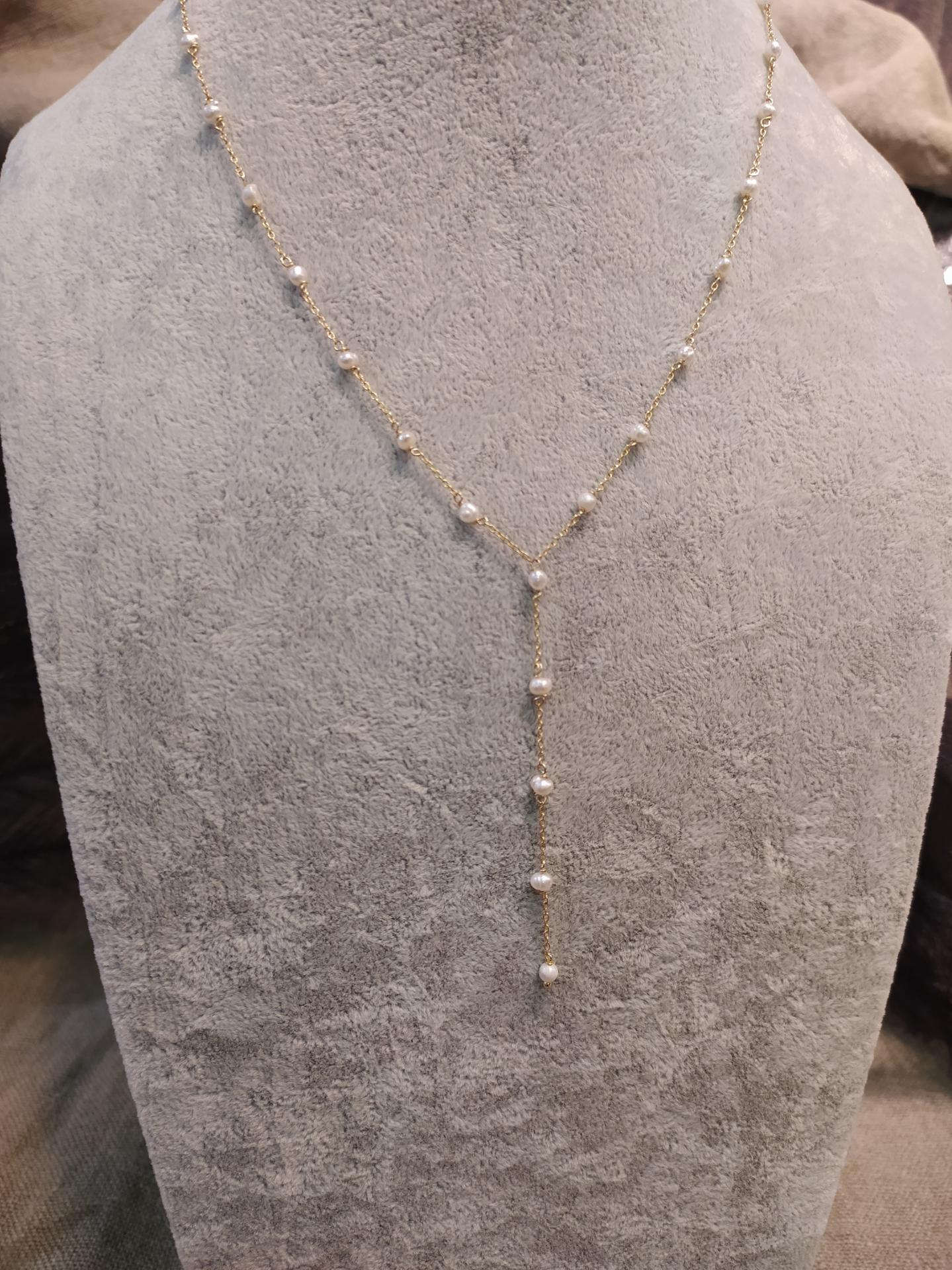 Collier ref 244 1 73 gr prix 79 eur ras de cou 44 cm plus extention longueur 7 cm 1