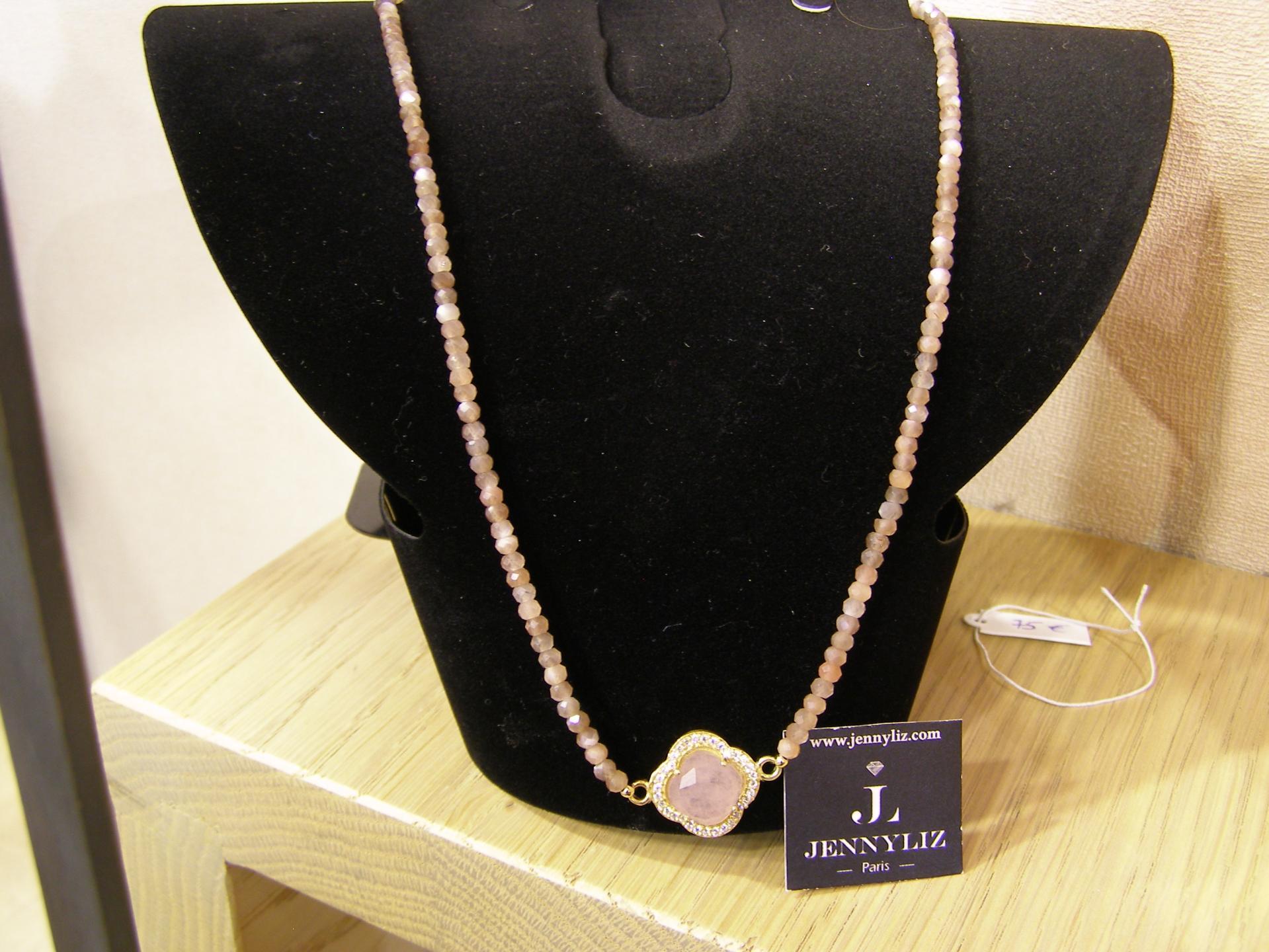 Lisa 40 cm 75 eur 1 77 gr pierre de lune et quartz rose copie